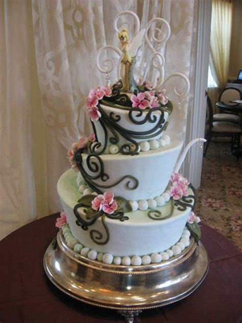 fall in with these disney inspired wedding cakes oh my disney yum