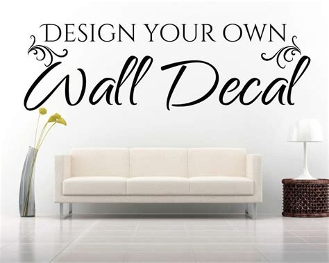 design own wall sticker design your own wall sticker home design
