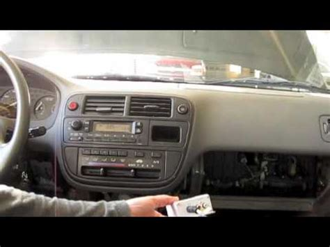 how to ipod a 97 honda civic