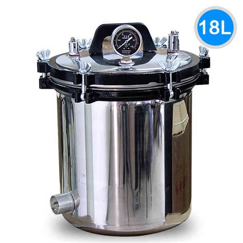 sterilize tattoo equipment with pressure cooker xfs 280a 18liters advanced 304 stainless steel portable