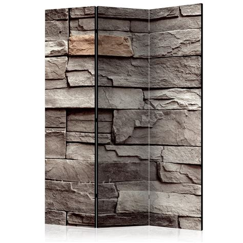 Decorative Photo Folding Screen Wall Room Divider Stone Decorative Room Dividers