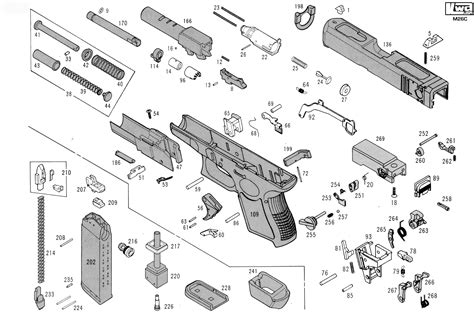 glock exploded diagram glock 30 parts diagram wiring library