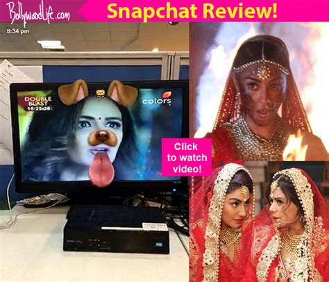 vivek dahiya snapchat kavach snapchat review this mona singh show is