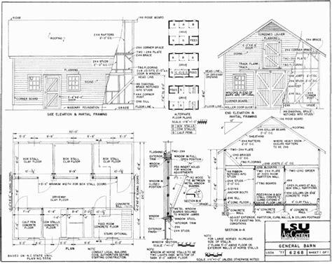 free barn plans 6 free barn plans