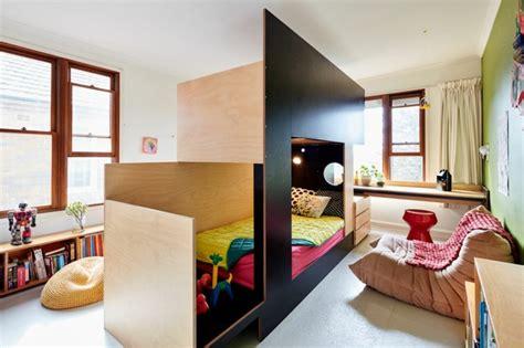 une chambre pour deux idee pour separer une chambre en deux separation rideau