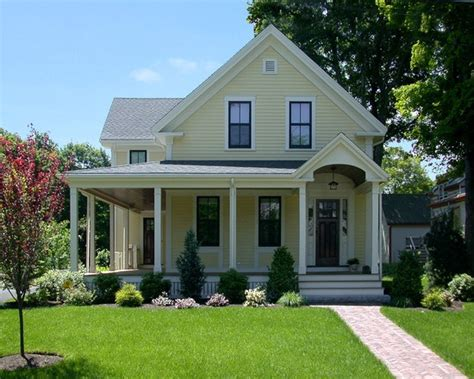 light yellow house light yellow house with brown deck homsey pinterest yellow houses yellow and