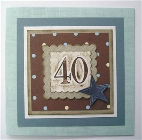 Handmade 40th Birthday Cards - 522 best images about cards birthday numbers on