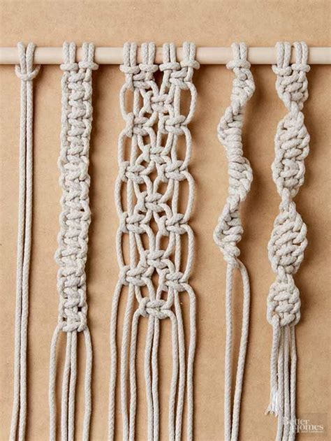 18 best basic macrame knots images on macrame