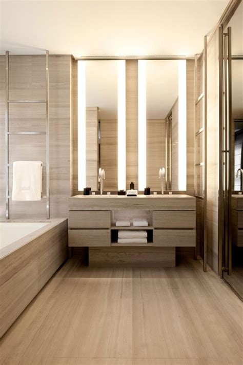 Modern Bathroom In 45 Stylish And Cozy Wooden Bathroom Designs Digsdigs