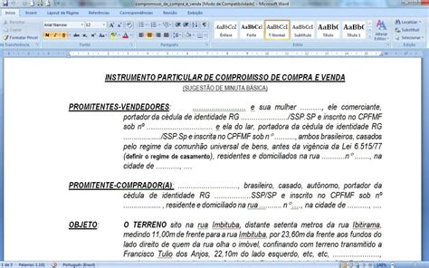 modelo de contrato de permuta modelo de contrato de compra e venda loca 231 227 o