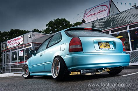 stanced honda stanced honda civic ek fast car