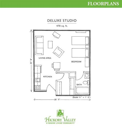 one level living floor plans assisted living independent living florissant mo