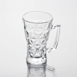 Teh Gelas Botol Per Karton cawan kaca borong mesin ditekan bir jelas gelas cawan