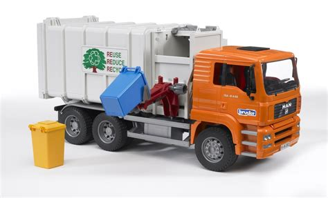 bruder garbage truck the top 15 coolest garbage truck toys for sale in 2017