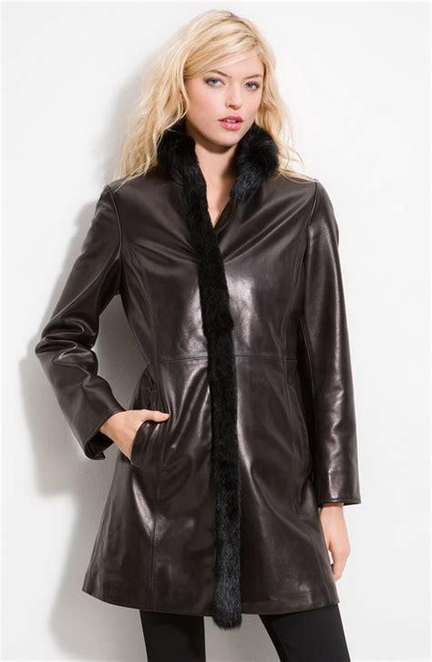 black leather womens black leather coats for thebestfashionblog