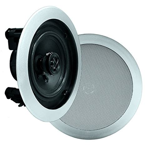 Pyle In Ceiling Speakers Review pyle pdic51rdsl in wall in ceiling dual 5 25 inch