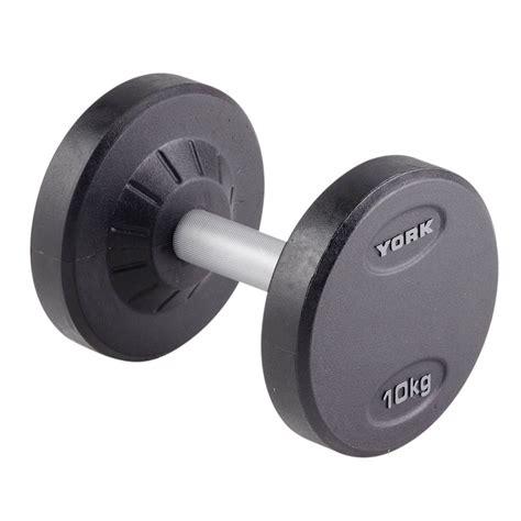 Dumbell 10kg York 10kg Pro Style Dumbbell Sweatband