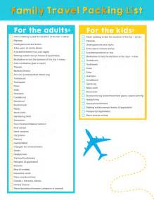 family vacation packing list template family travel downloadable packing list planning on the packing list for families customizable stuffed suitcase