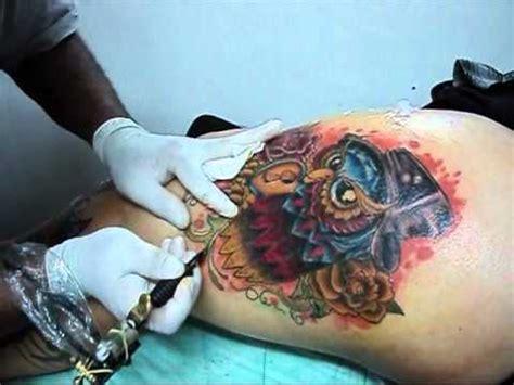 tattoo zumbi new school diovany tattoo coruja new school youtube