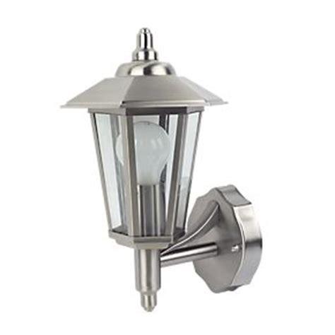 Screwfix Outdoor Lighting Screwfix 60w Stainless Steel Coach Lantern Wall Light 163 10 Hotukdeals