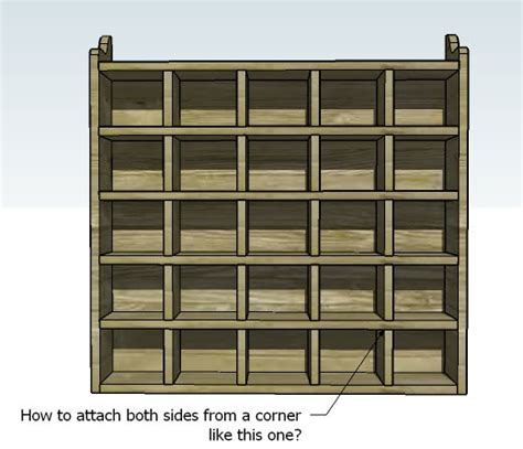 Cubby Shelf Plans by White 25 Cubbies On The Wall Diy Projects