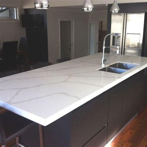 kitchen bench surfaces calacutta quartz from quantum quartz benchtops completed