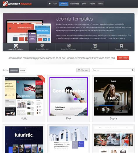 rockettheme joomla templates rockettheme review what you may not