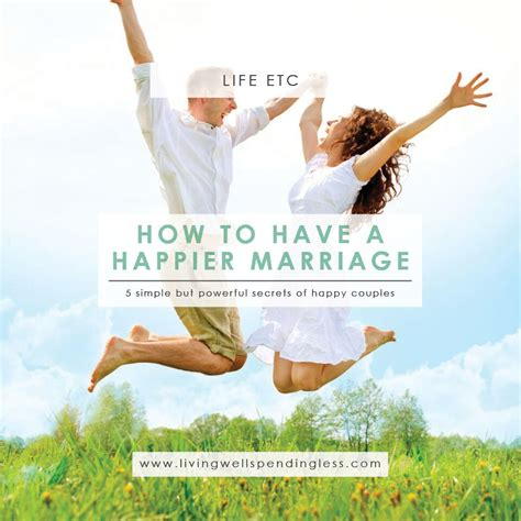 8 Tricks To A Great Marriage by Secrets Of A Happy Marriage Successful Marriage Tips