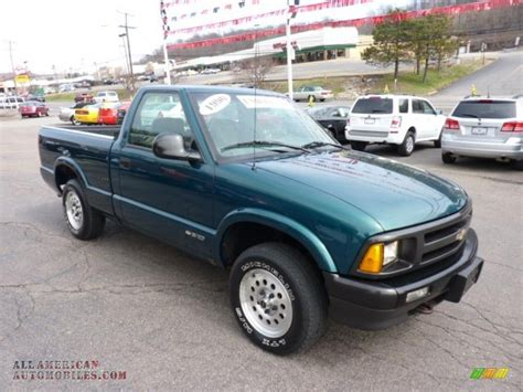 1996 chevrolet s10 1996 chevrolet s10 ls regular cab in emerald green