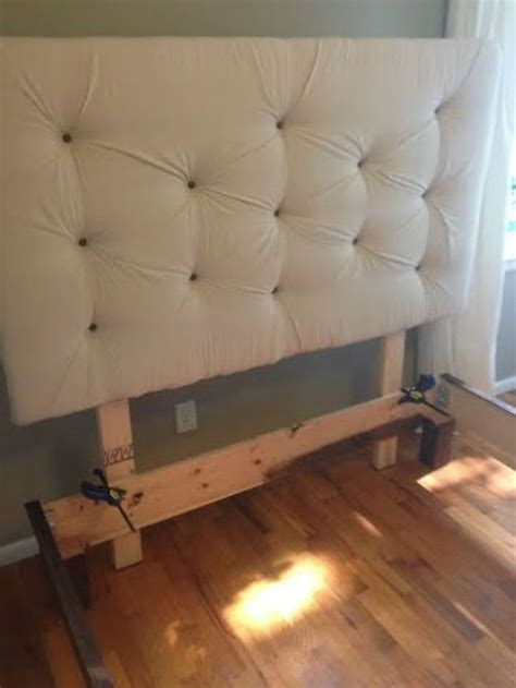 Diy Headboards For Beds Diy Headboards Diy Bed Frame And Diy Upholstered Headboard On Pinterest
