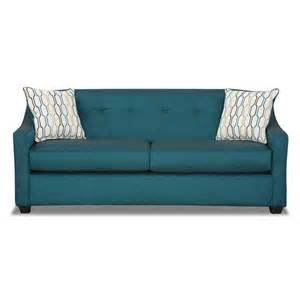 teal colored couches leona peacock teal sofa furniture and decor