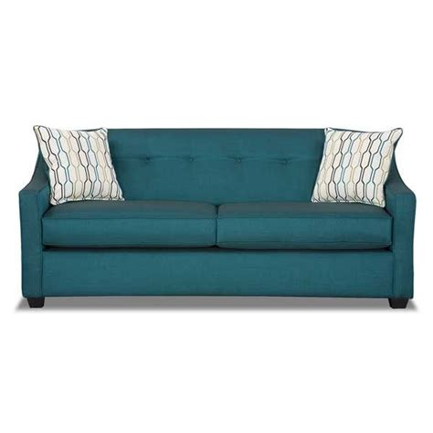 teal couch leona peacock teal sofa furniture and decor pinterest