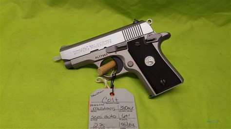 Mustang 380 Auto by Colt Mustang Pocketlite 380 Acp 1911 Ss O6891 For Sale