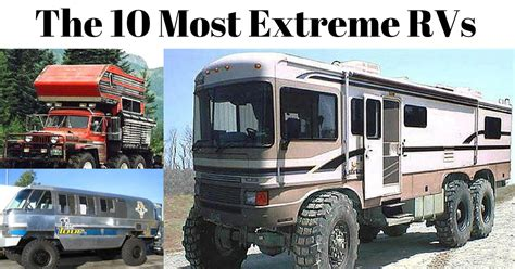 Airstream Travel Trailers Floor Plans 10 most extreme monster truck rvs