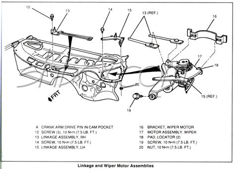 download car manuals 2002 pontiac firebird windshield wipe control wiper linkage bushings camaro forums chevy camaro enthusiast forum