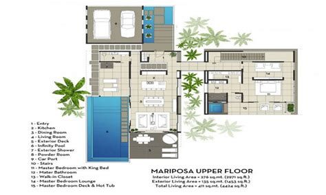 Contemporary Plans by Architectural House Plans Modern Design Modern Villa