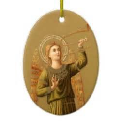 vintage christmas renaissance angel ornament zazzle