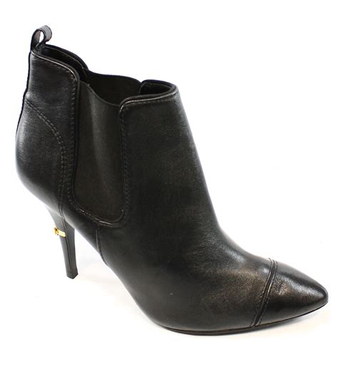 burch new black s shoes size 11 ankle leather