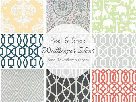 peal and stick wall paper peel and stick wallpaper ideas