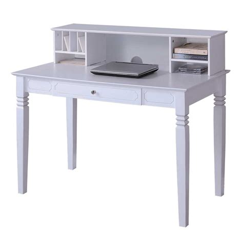 home desk with hutch home office desk with hutch white in desks and hutches
