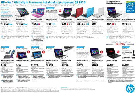 Hp Asus Price Malaysia laptop brochure collections 2