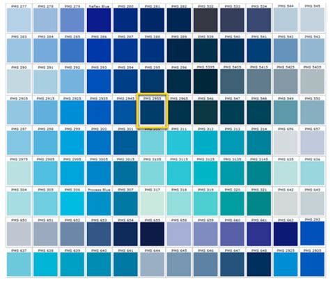 all colors of blue shades of blue blue colors accent on design