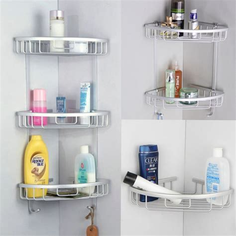 corner shelves for bathroom 3 tier shower bathroom shelf corner rack organiser