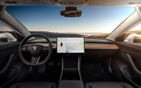 tesla inside 2017 tesla model 3 specs 220 310 miles range 0 60 mph in 5 1