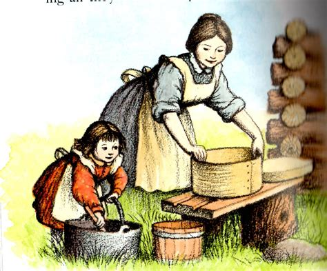 themes in little house in the big woods little house in the big woods a mother a daughter and