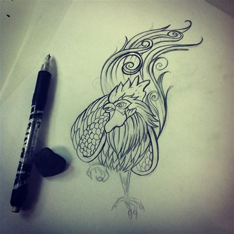 rooster tattoo designs rooster images designs