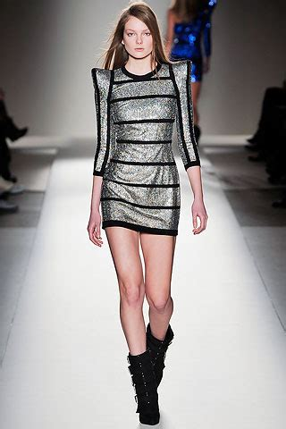 16 Best Sequin Dresses For Fall Winter 2009 2010 by 15 Balmain S Rhinestone Silver Sequin Dress With