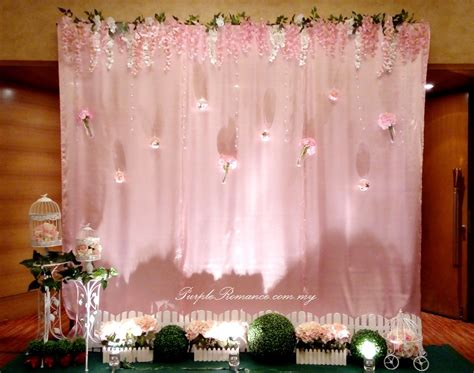 Wedding Backdrop Kl by Garden Theme Wedding Decoration At Pullman Klcc Purple
