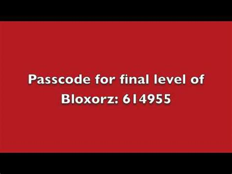 bloxorz codes 50 passcode for level of bloxorz