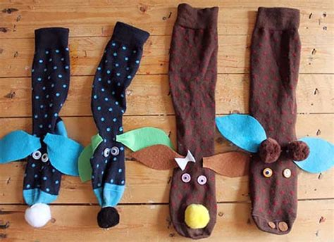 How To Make Handmade Puppets - 7 diy sock puppets handmade